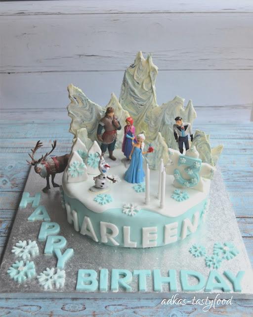 Orechovo - karamelová torta Frozen