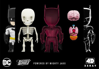 Batman 4D XXRAY Dissected Vinyl Figure by Jason Freeny x Mighty Jaxx