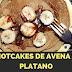Hotcakes de avena y platano