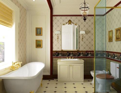 kamar mandi hotel modern minimalis