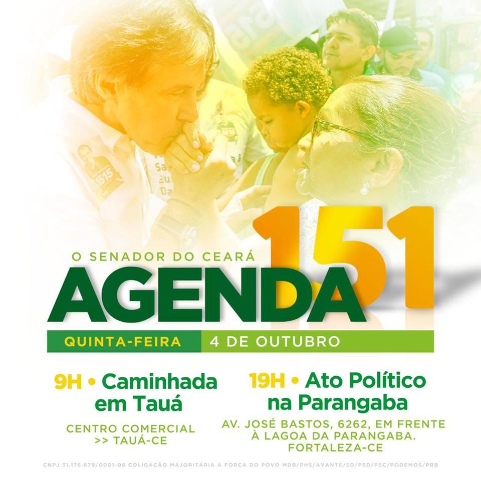 ccd1c73e07 Pastor Pedro Ribeiro (PSL-177) 16 horas - Mega Carreata de apoio ao  presidenciável Jair Bolsonaro em Pacajus. Concentração  Praça Carlos  Jereissati.