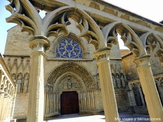 iglesia de Santa María La Real, Olite, Navarra