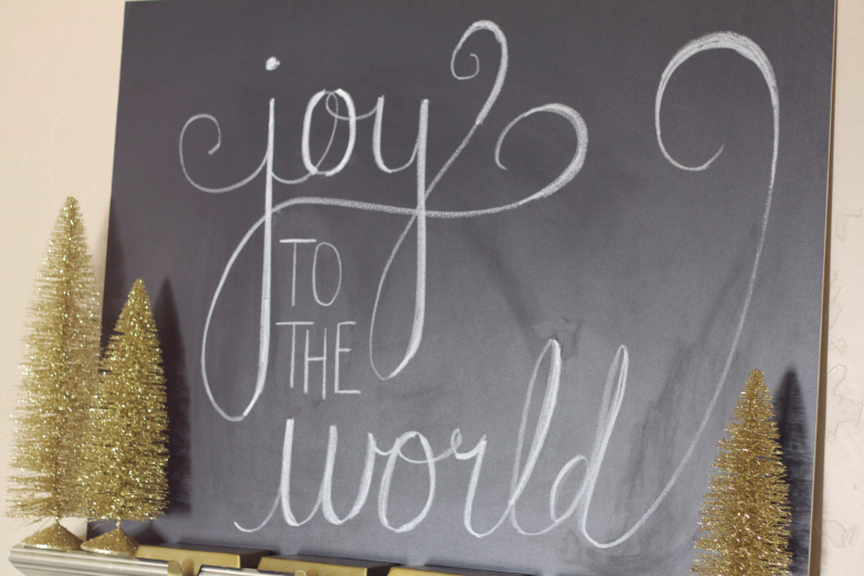 Christmas Chalkboard Art.Do It Yourself Divas Diy Christmas Chalkboard Art