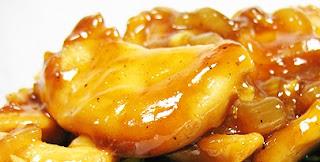 Курица с луком в соевом соусе