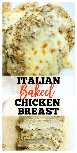 Easy Italian Baked Chicken Breast