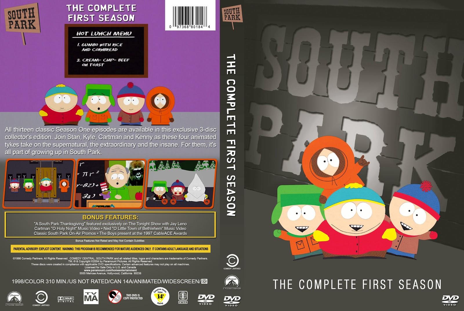 South Park Season 1-21 DVD Cover Collection