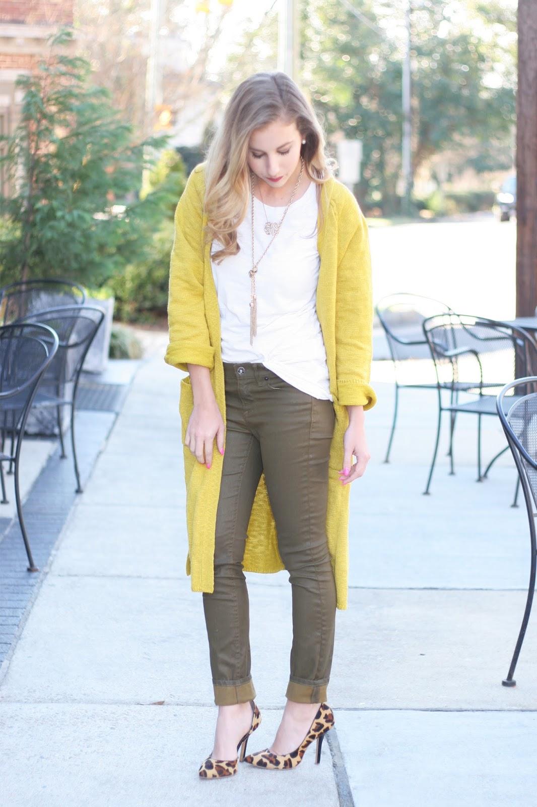 Casual-slub-knit-duster-cardigan-street-style-blogger-collaboration