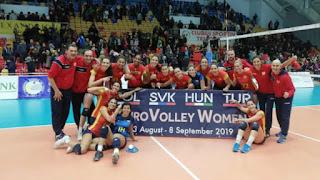VOLEIBOL - La selección española regresa a los Europeos femeninos 6 años después