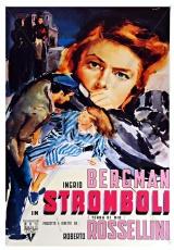 "Carátula del DVD: ""Stromboli, tierra de Dios"""
