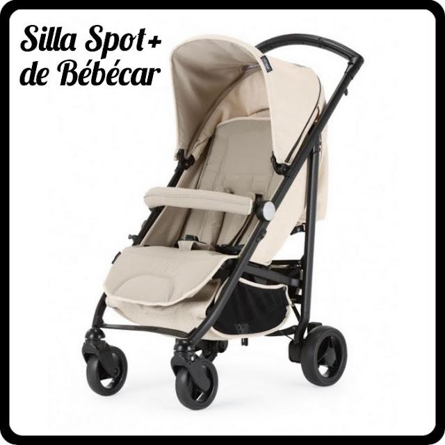 La silla Spot+, una silla con las prestaciones de un carrito