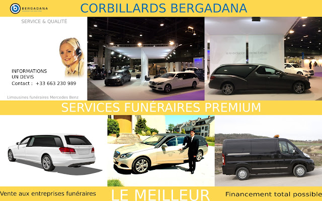 Vehicules funéraires Bergadana