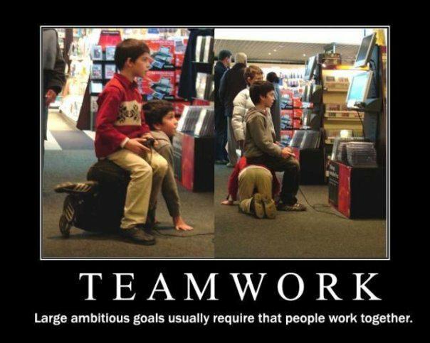 Funny Team Quotes. QuotesGram