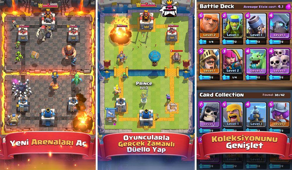 Clash Royale İndir, En iyi Kart Oyunu