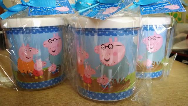 Lembrancinhas Peppa Pig xícara