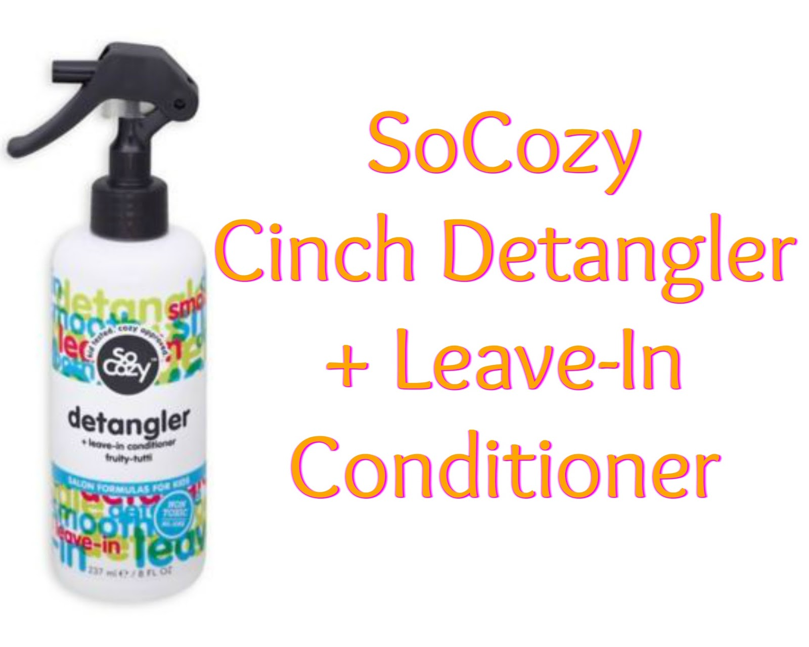 Click here to buy SOCOZY BOING CURL LEAVE-IN-CONDITIONER SPRAY for your kiddos tangles.