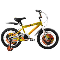 18 inci pacific hotshot glossy kids bike