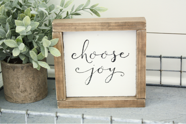 Chooe Joy Mini Sign