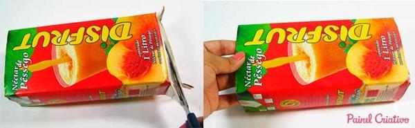 Подарочные коробки из тетрапаков - мастер-классы и идеи