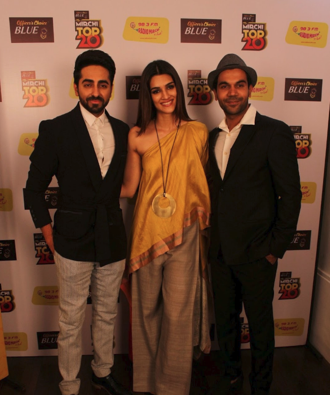 Ayushmann Khurrana and Kriti Sanon 98.3 Radio Mirchi Fm To Promote Film Bareilly Ki Barfi