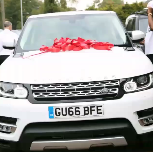 E-Money Surprises His Wife With A 2016 Customised Range