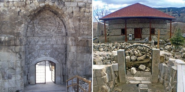 800-year-old historic Crown Gate ruined during restoration