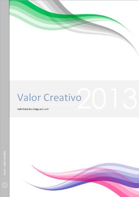 valor creativo portadas word