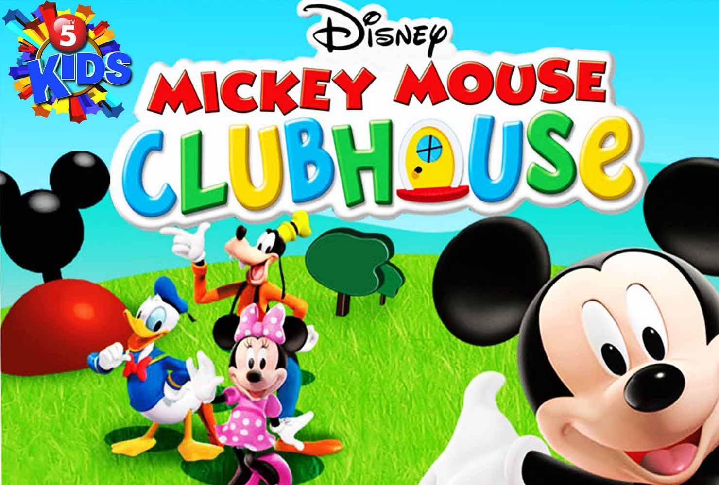 Walt Disney World 10 Free Mickey Park Clubhouse Wallpaper