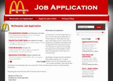 mcdonalds+3 Online Job Application Form For Mcdonalds on apply online, form.pdf, print forms, fast food,