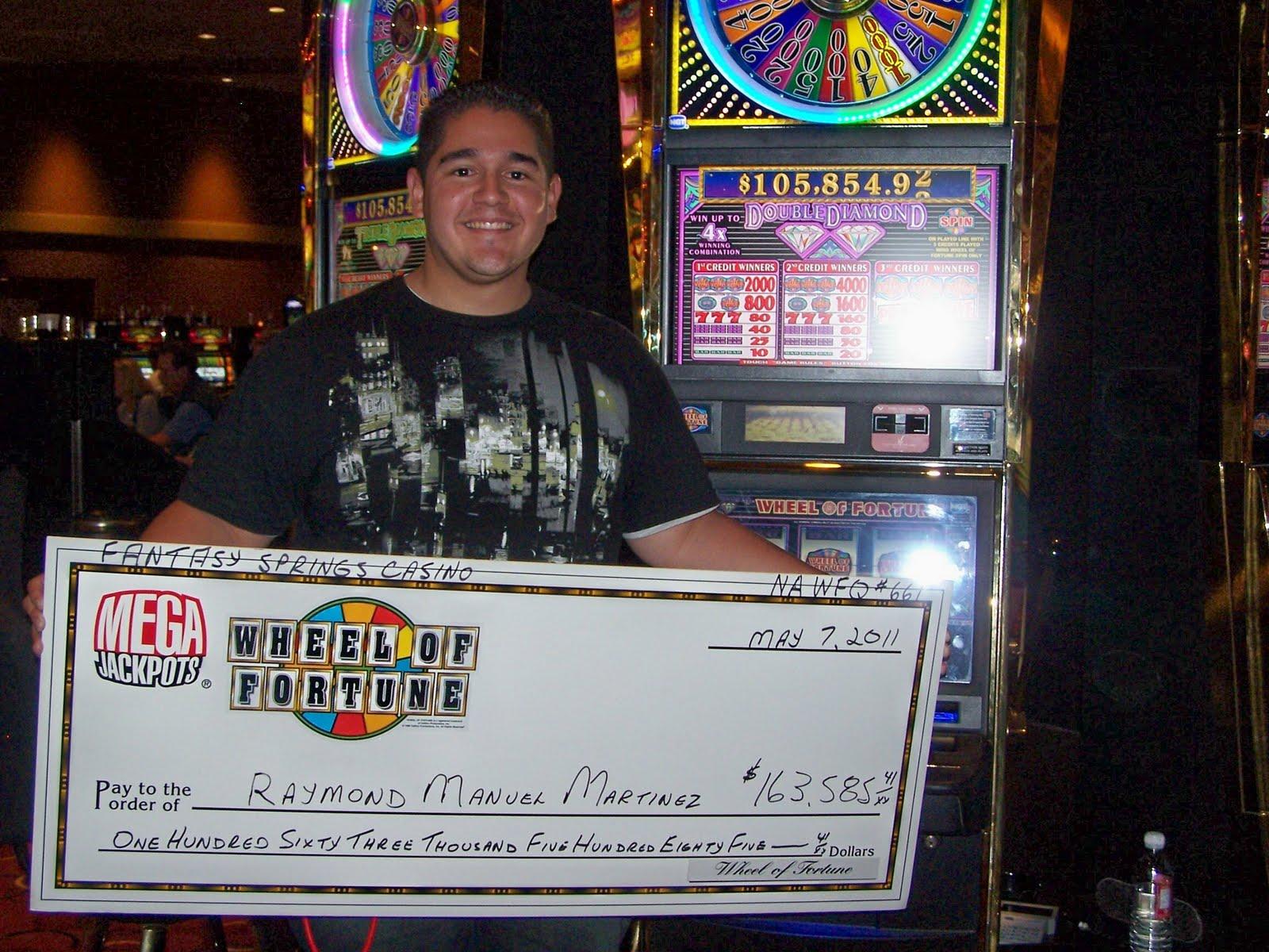 Big casino slot machine wins