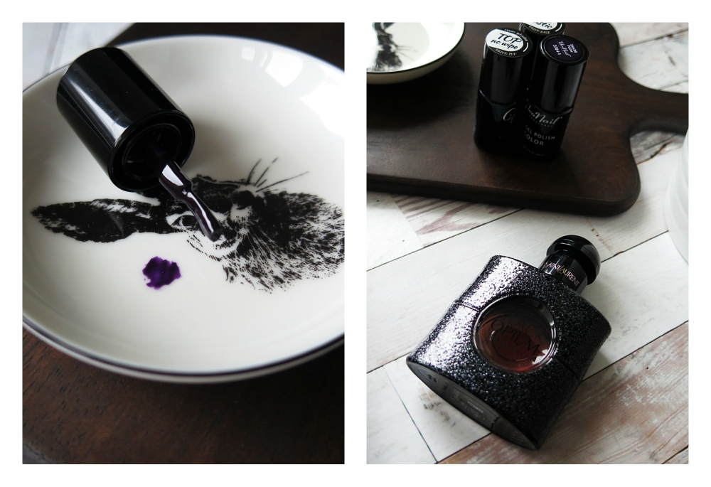 perfumy YSL, Black Opium i Shade Plum