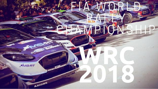 WRC Calendar 2018