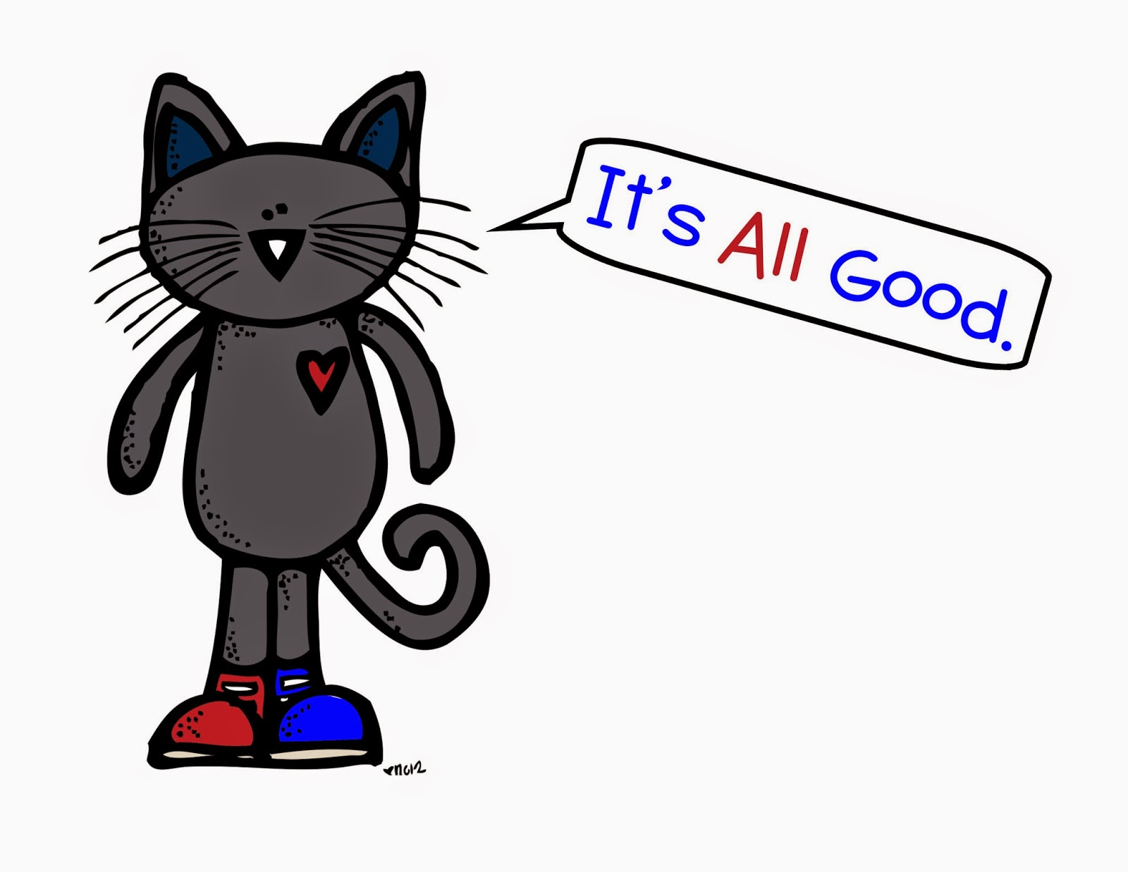 Pete The Cat Awesome Adjectives Pack I Love My Colorful