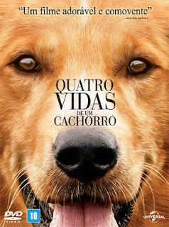 Quatro Vidas de Um Cachorro - BDRip Dual Áudio