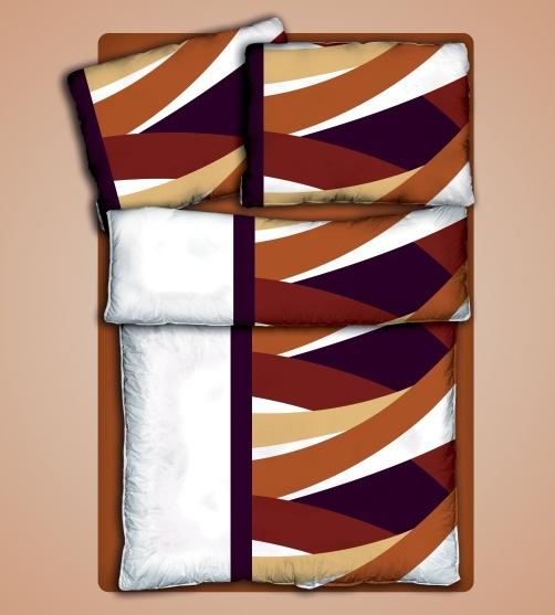 Ložní prádlo Jena - bavlněný Jersey - 100% čistá bavlna - oboulícní úplet 140g/m2