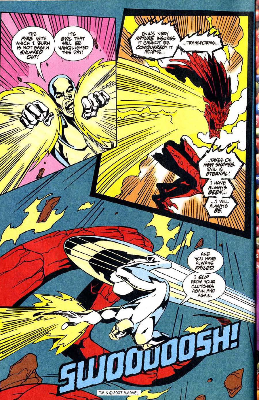 Read online Silver Surfer (1987) comic -  Issue #100 - 38