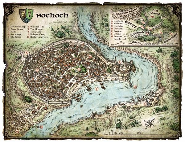 This News Is A Week Behind Because At The Time Mike Schley Made The Tweet  Concerning Greyhawk Maps Soon To Be On His Website, It Didnu0027t Strike Me As  A Great ...