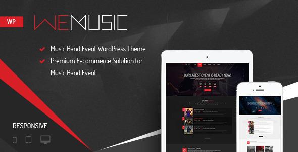 WeMusic v1.7.6 – Music Band Event WordPress Theme | | THEMEKILLERS.COM