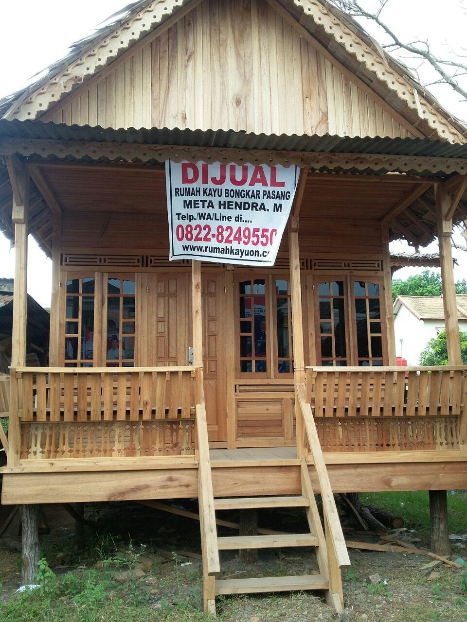 Rumah Kayu Bongkar Pasang Palembang 082282495500