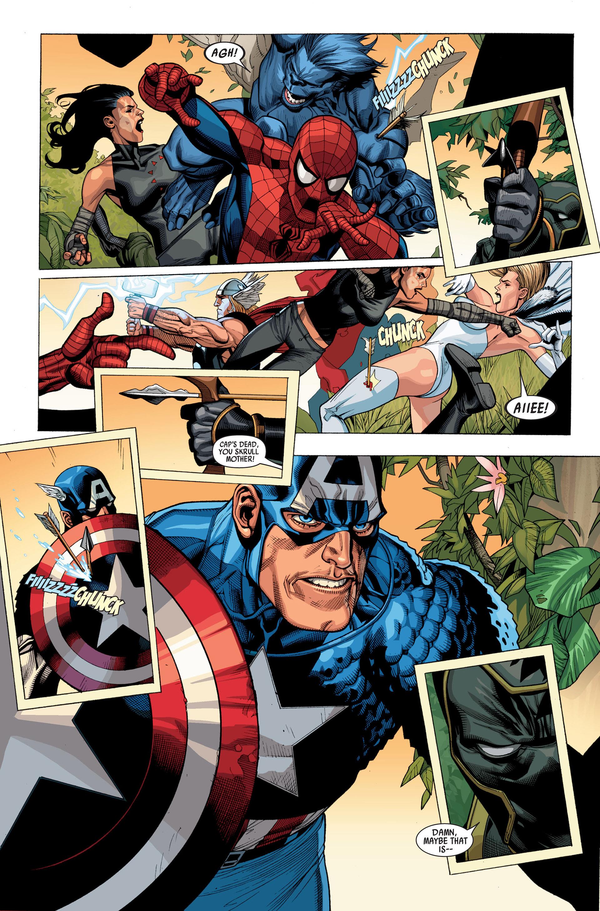 Read online Secret Invasion comic -  Issue #2 - 9