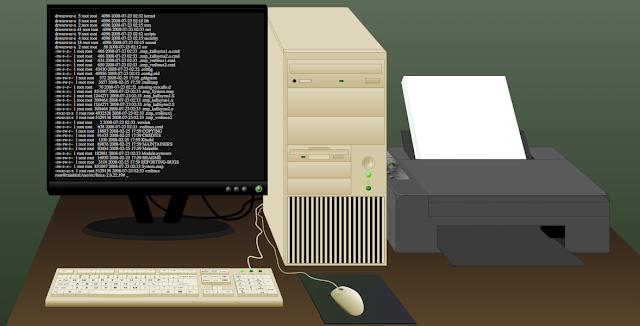Pengertian Sistem Komputer, Sistem Komputer adalah, Komponen dalam Sistem Komputer
