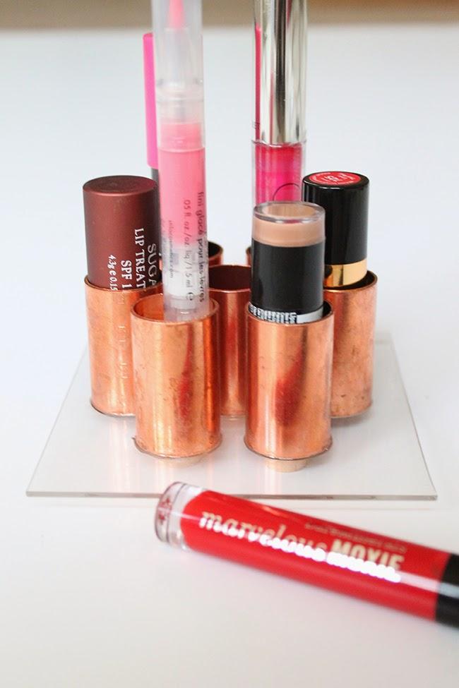 A Hammer & Heels: Make It: Lipstick Holder