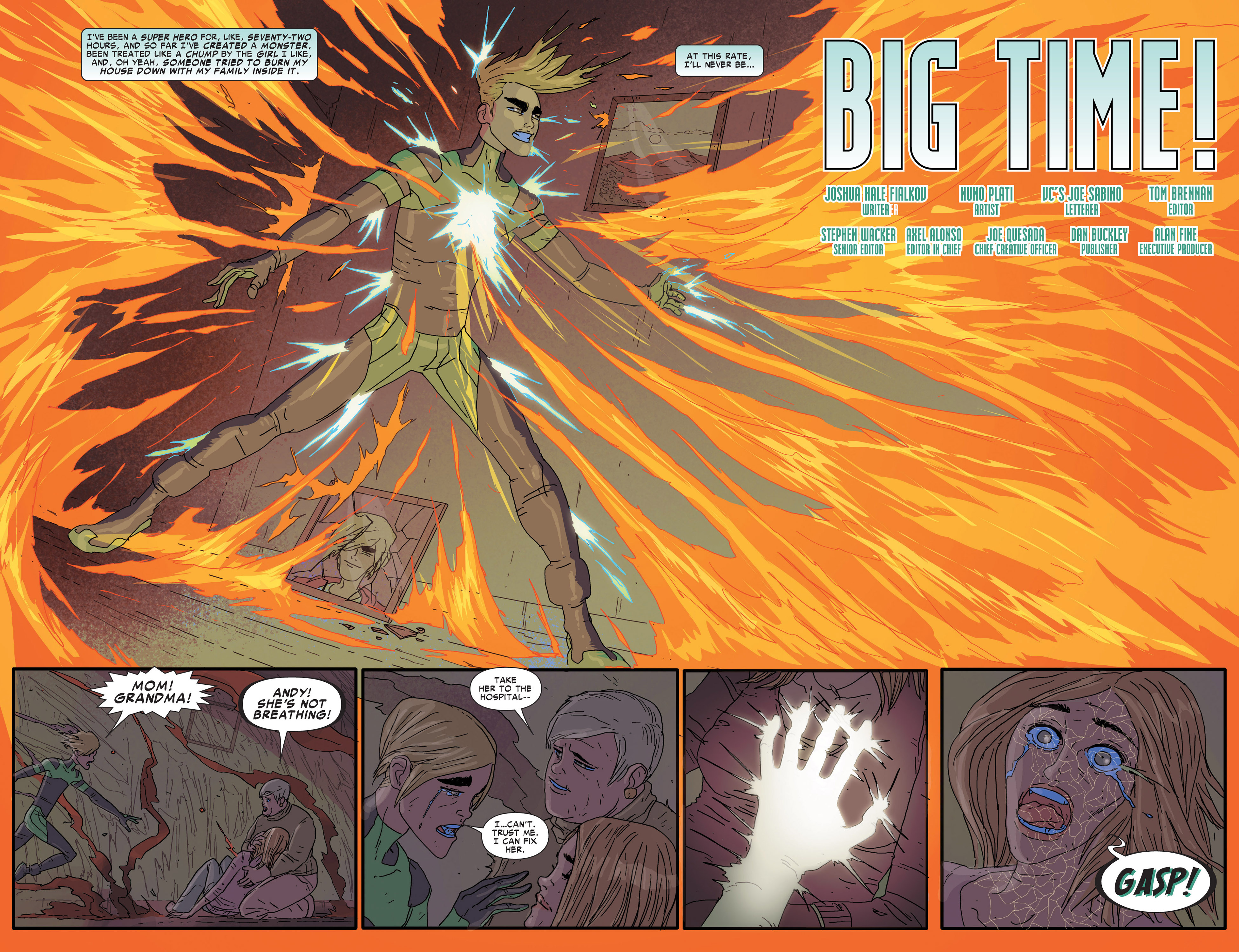 Read online Alpha - Big Time comic -  Issue #5 - 4