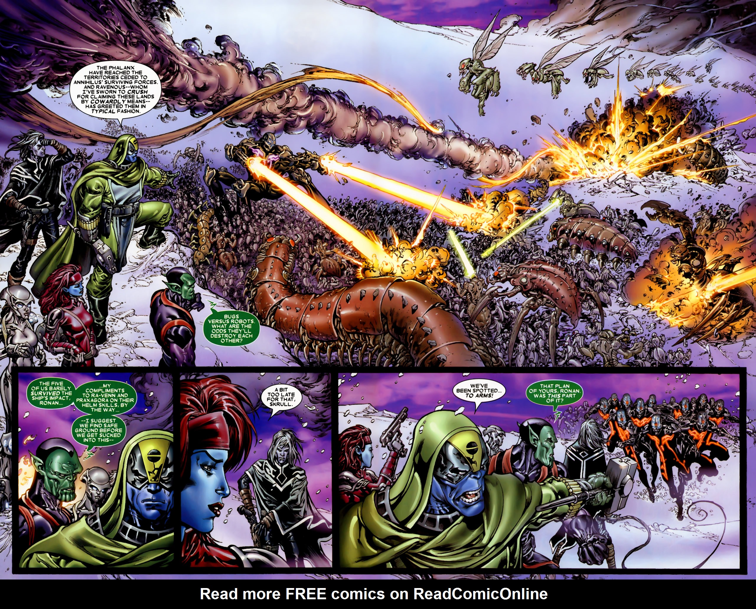Read online Annihilation: Conquest comic -  Issue #2 - 10