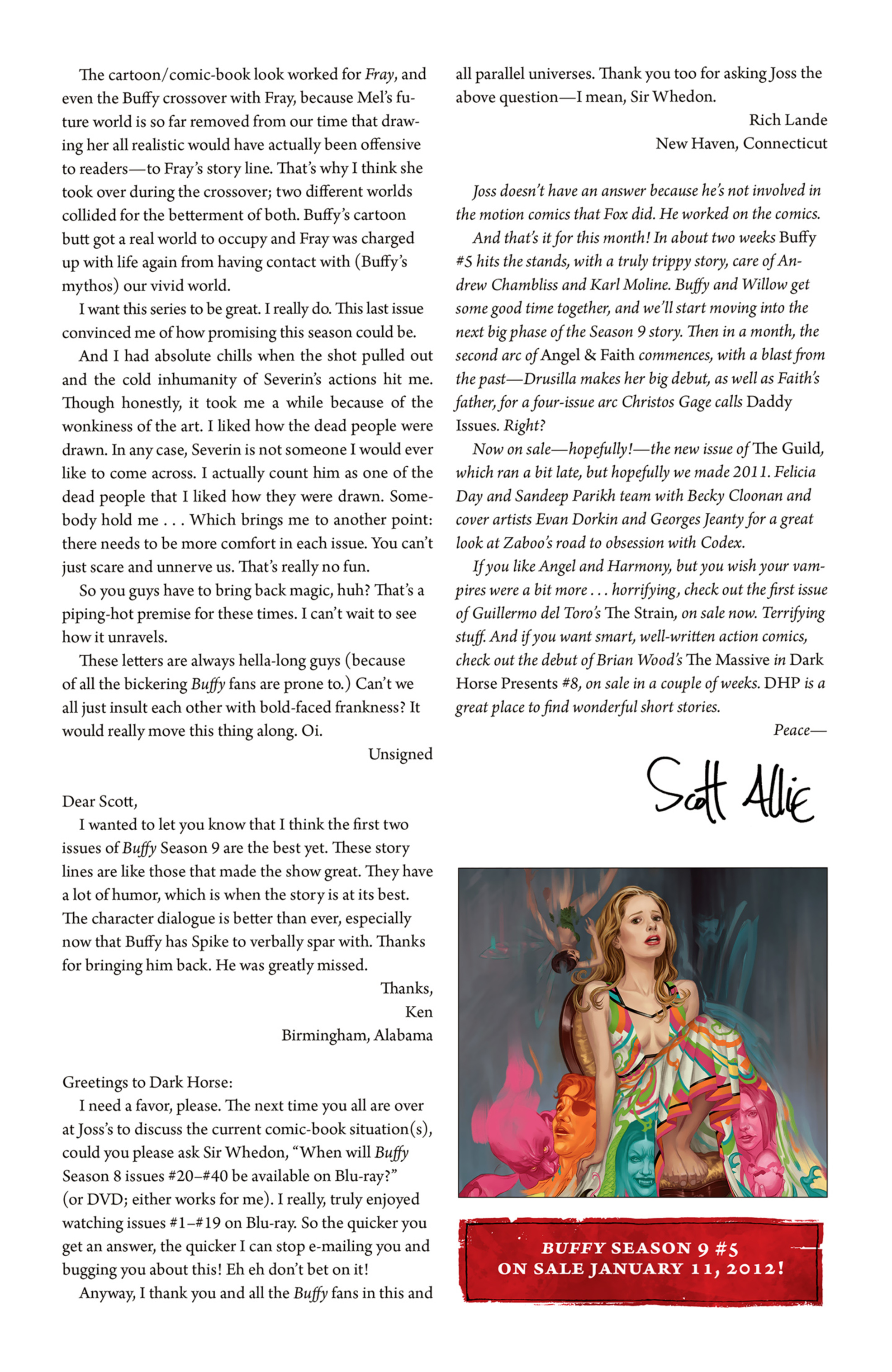 Read online Angel and Faith comic -  Issue #5 - 27