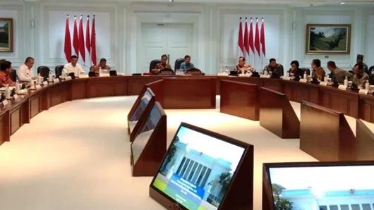 Kumpulkan Menteri, Jokowi Mulai Siapkan Rencana Kerja Pemerintah 2020
