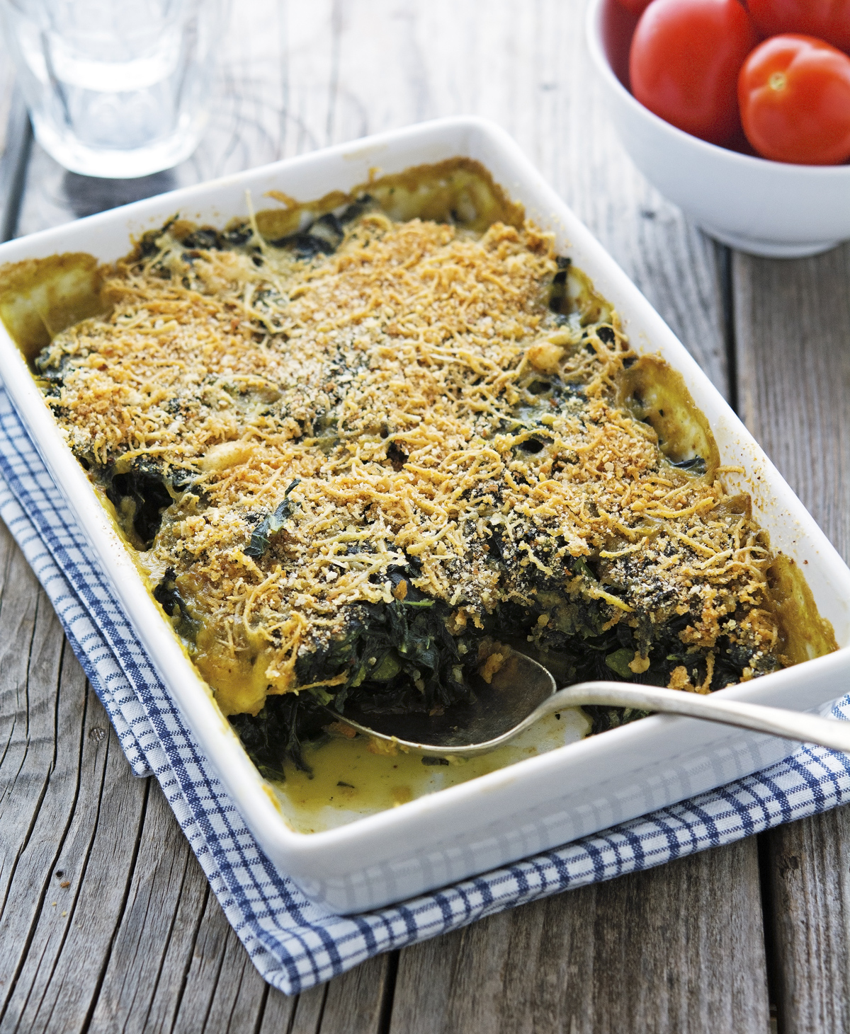 The Best Baked Kale