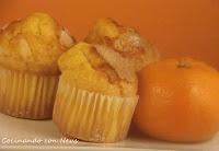 Magdalenas con mandarina