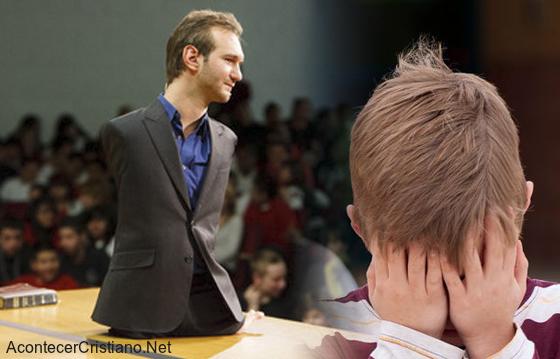 Nick Vujicic víctima de Bullying maltrato escolar