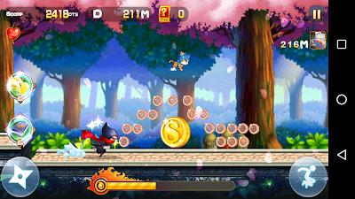 Download Sprint Ninja v1.0.2 Apk Screenshot 2