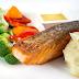 Cá hồi Na Uy nướng tại nhà hàng MH Bistro